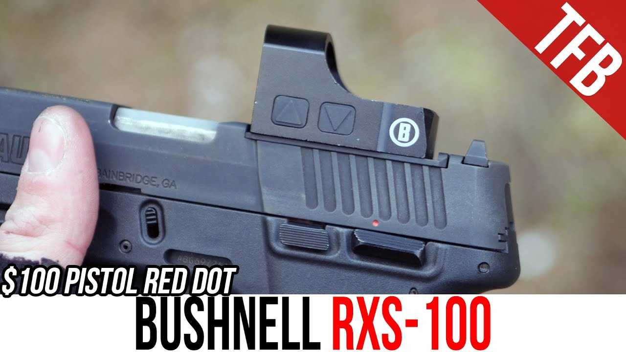 A Review of the Cheapest Pistol Red Dot: Bushnell RXS-100