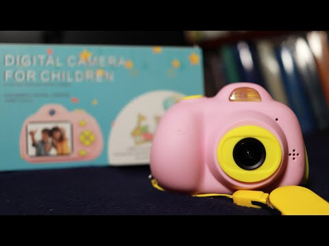 Amazing Digital Camera For Children   Unboxing And Test