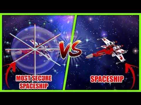 MOST SECURE BASE CHALLENGE - SPACESHIP VS UFO w/ Scuba Steve