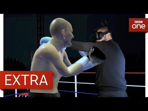 Tony Bellow takes on a Virtual Reality boxer -  A Question Of Sport | BBC One