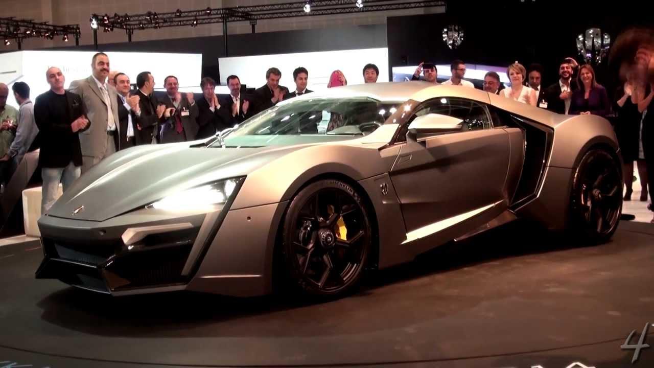 Lykan Hypersport World Debut Dubai Motor Show 2013 Youtube