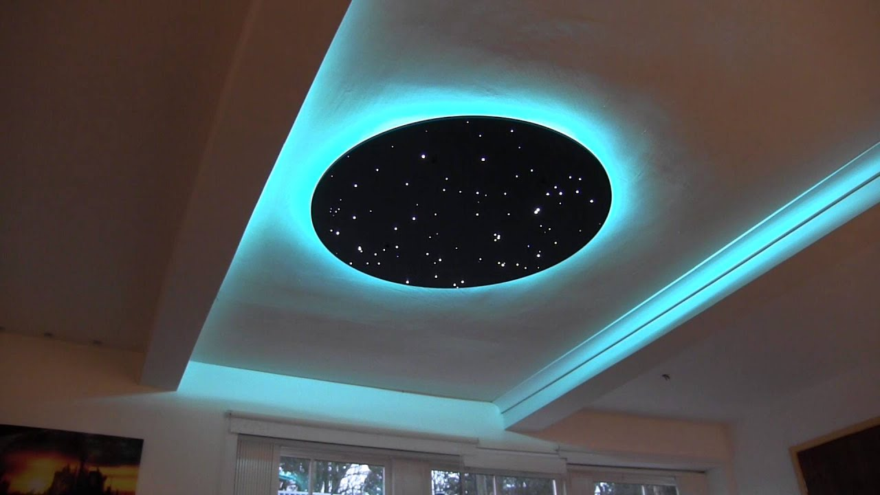 No 3 - Eclipse star disk with LED RGB edge lighting - YouTube