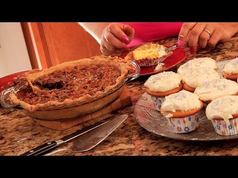 Easy Desserts   Chocolate Pecan Pie   Cupcake Recipe   Cooking from the Heart 107