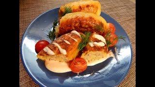 Картофельные рулетики с мясом( простой домашний рецепт)