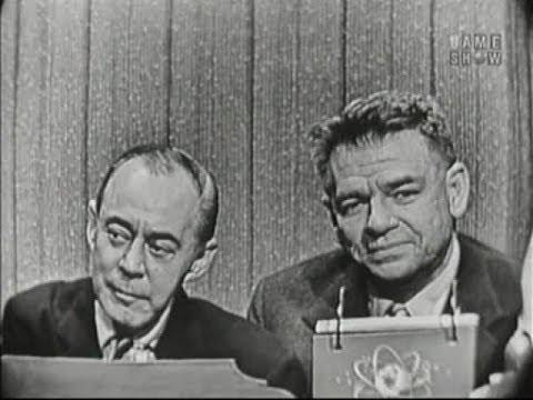 What's My Line? - Gen. Mark Clark; Rodgers & Hammerstein (Feb 19, 1956)