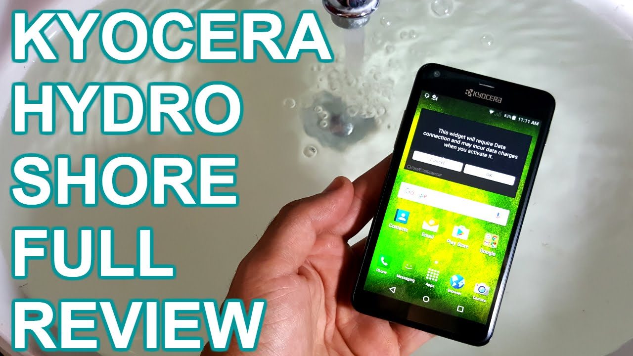 Kyocera Hydro Shore Full Review
