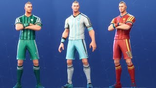 NEW SKINS OF MEXICO, ARGENTINA, SPAIN AND MORE FORTNITE: Battle Royale