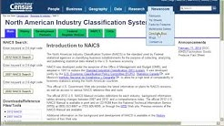 How to Find NAICS and SIC Codes