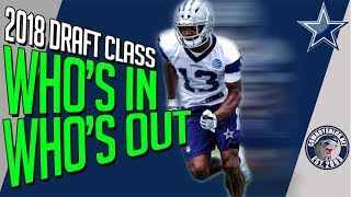 Dallas Cowboys 2018 Draft Class | Which Rookies Make the 53 Man Roster