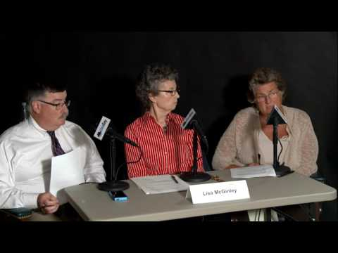 Lunch with the Candidates: Christine Conley and John Scott