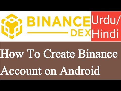 How To Create Binance Account On Android | Binance Dex Wallet