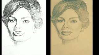 Портреты карандашом. И как я начала рисовать портреты