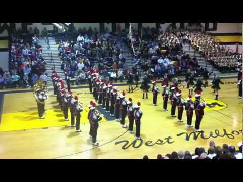 Clifton NJ Mustang Marching Band @ West Milford Tattoo 2011!