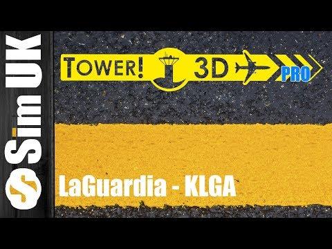 Total Fail + Epic Bug?   LaGuardia (KLGA) DLC FIRST LOOK   Tower!3D Pro