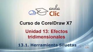 Curso de CorelDraw X7. 13.1. Herramienta silueta.