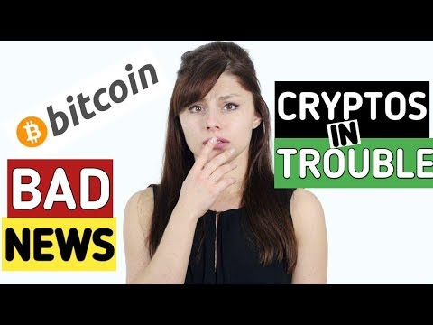 Very Bad News For Bitcoin And Cryptocurrencies | Cryptos Are In Deep Trouble.