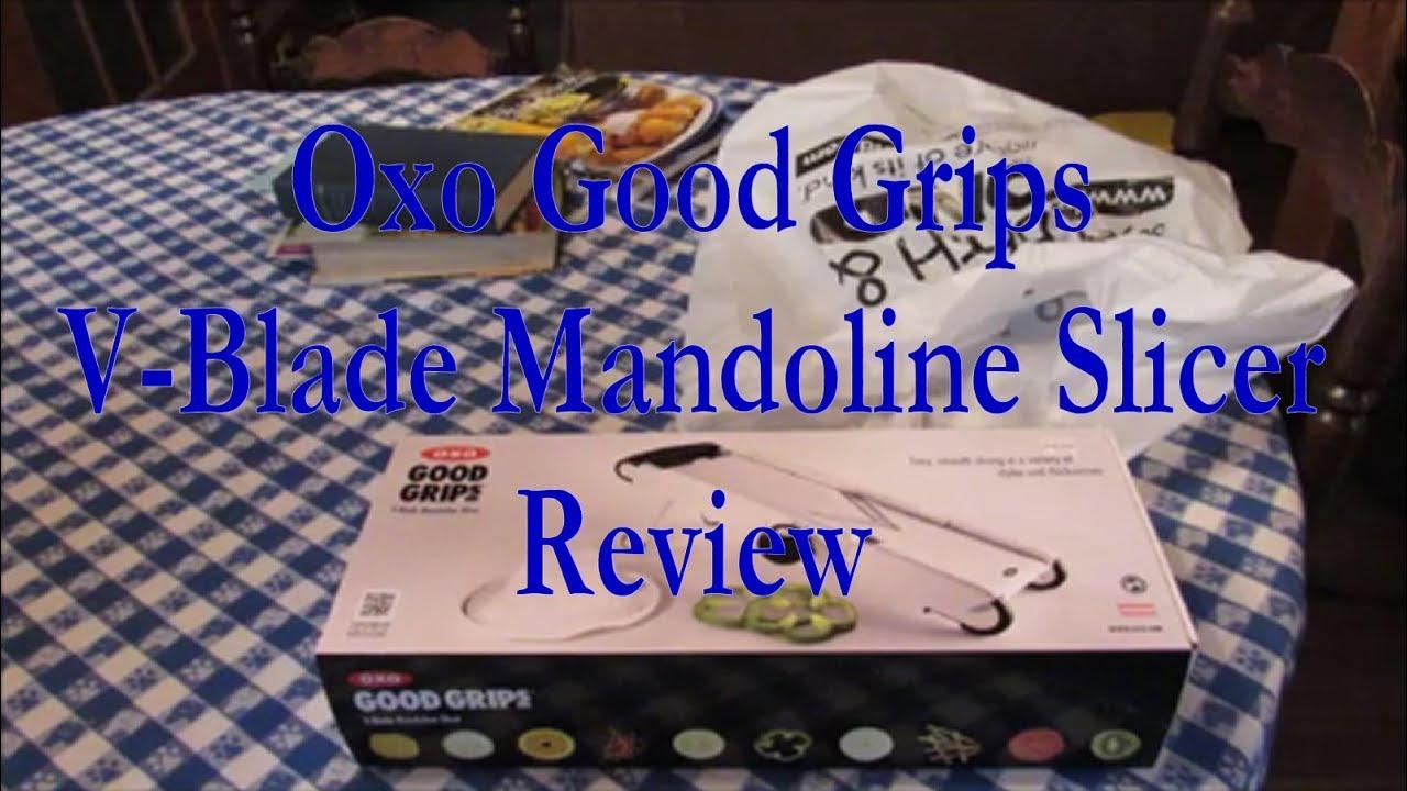 Oxo V Blade Mandoline Slicer Review