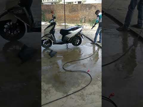 TVS Ntorq Foam wash
