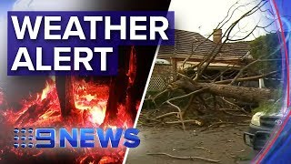 Weather warnings for Sydney, Melbourne, Adelaide