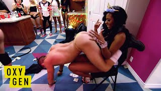 Bad Girls Club: Strippers Come To Celebrate the Twins 21st Birthday | Oxygen