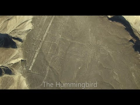 Drone flight over the Nazca Lines, Peru - 4k DJI Phantom 3 pro drone video