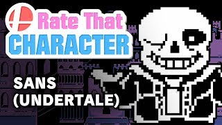 Sans - Rate That Character