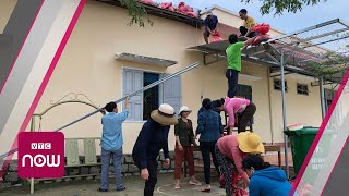 Bão số 6 vào bờ, Bình Định chưa có thiệt hại
