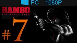 Rambo The Video Game Walkthrough Part 7 [1080p HD] - No Commentary