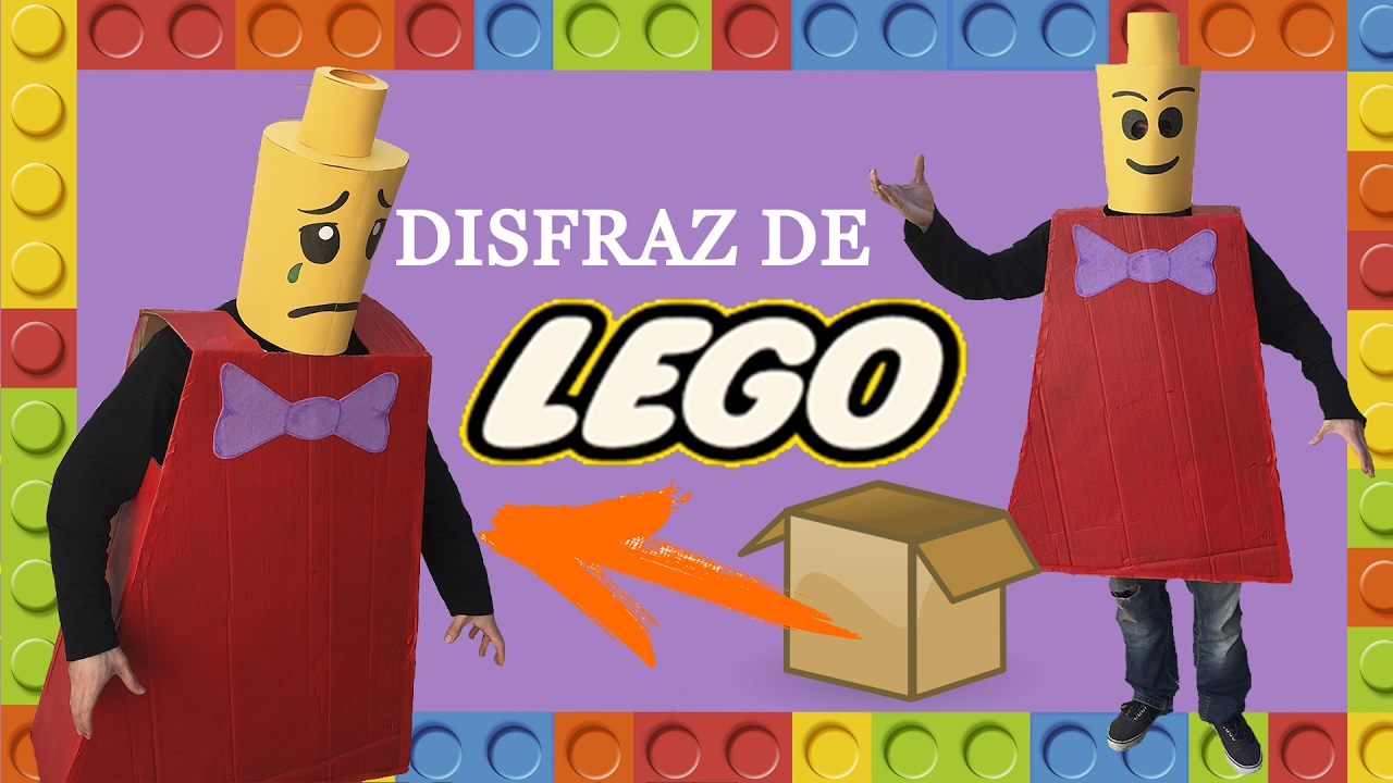 Disfraces caseros para adultos disfraz original de lego - Disfraces carnaval original ...
