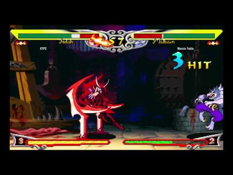 Darkstalkers III~ Jedah (KTP2) vs. J.Talbian (Marcio Yukio) HD