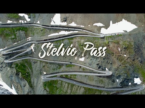 Passo Dello Stelvio | The Stelvio Pass By Drone | 4K UHD Stilfser Joch