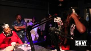 Cyhi the Prynce Spits Heat Back to Back in Friday Fire Cypher | Sway's Universe
