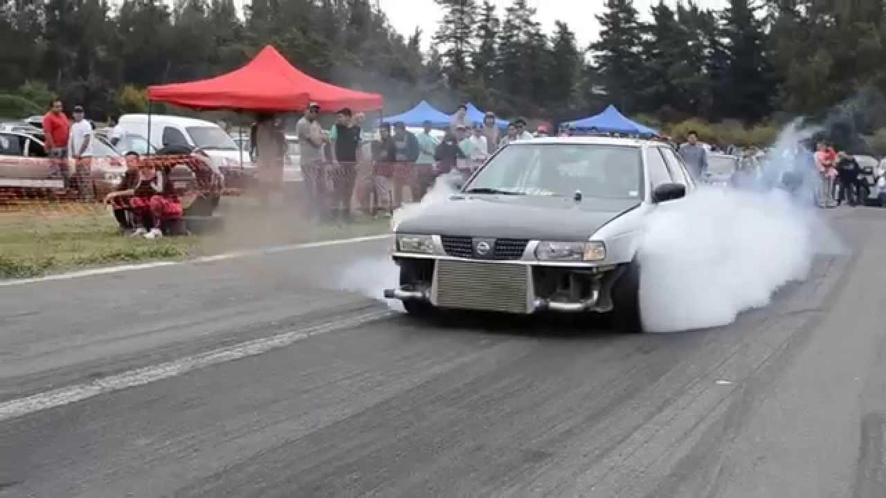 Nissan V16 Turbo GA16dne+T - Vizcachas 2 - YouTube