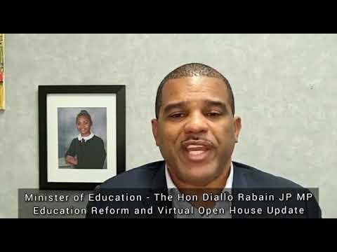 Minister Rabain On 2021 School Open Houses, January 12 2021