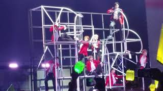 """Fancam of nct 127 performing """"wake up"""" at the houston stop world tour neo city usa - origin"""