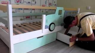 видео Детские кровати из массива сосны Легенда в Барнауле