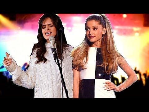 Ariana Grande y Camilla Cabello vs Taylor Swift y Katy Perry Colaboraciones que Deseamos en 2018