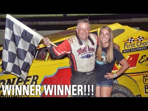 Dad Won At Bridgeport!