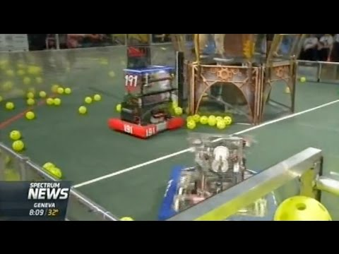 RIT on TV: FIRST Robotics