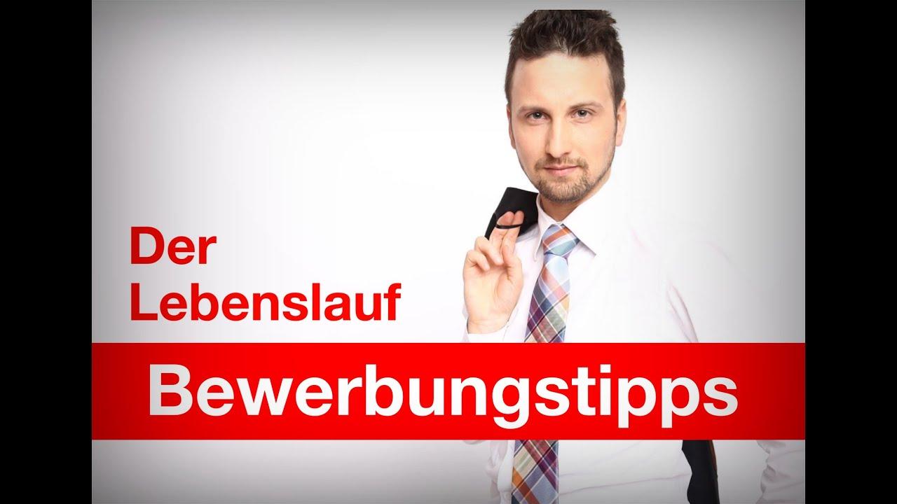 Bewerbungstipps Video | Der Lebenslauf | www.deinneuerjob.de - YouTube