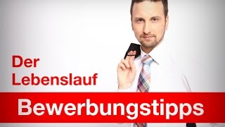 Bewerbungstipps Video | Der Lebenslauf | www.deinneuerjob.de