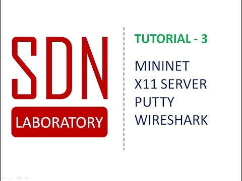 Mininet Installation And Demonstration On Virtual Box With X 11 Server, Putty On Windows