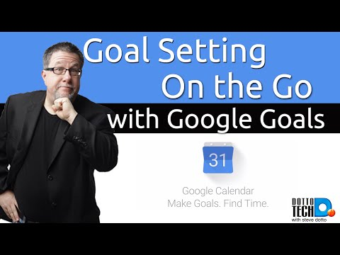 Google Goals - Goal Setting With Google Calendar