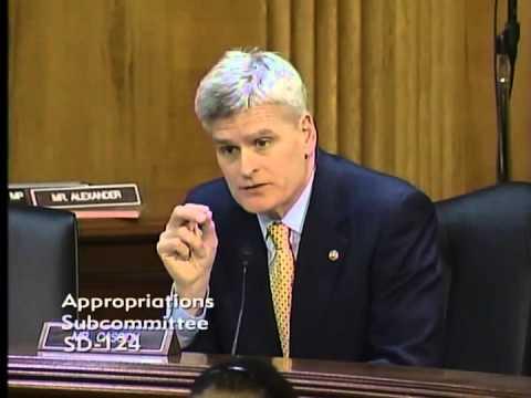 Sen. Cassidy Questions Interior Secretary in Senate Appropriations Subcommittee on GOMESA