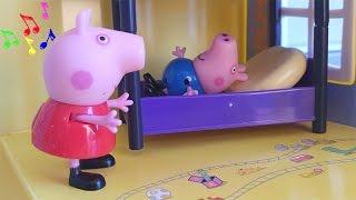Peppa Pig chante des Comptines et chansons pour enfants pour George Pig Episode en Jouets