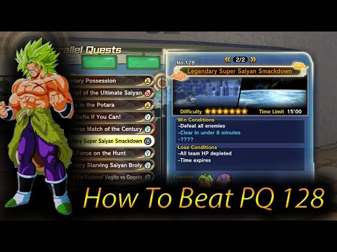 How To Beat Parallel Quest 128 ( EASY WAY ) DragonBall Z Xenoverse 2 Tips