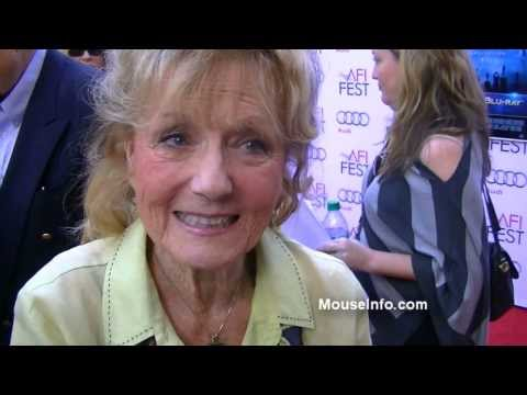 Kathryn Beaumont  on AFI Red Carpet for Mary Poppins