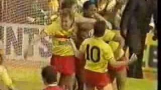 Arsenal vs Watford  Fa Cup quarter final 1987