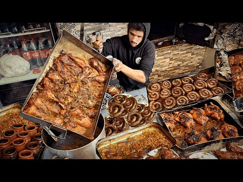 EXTREME STREET FOOD TOUR IN OUJDA 🇲🇦 Travel Morocco