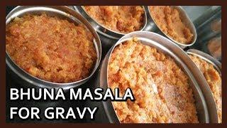 Zapętlaj How to Make Bhuna Masala (in bulk) for Gravy Vegetables |  Basic Gravy Masala | Healthy Kadai | Healthy Kadai
